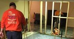 Water Damage Edgewater pros removing during repair process