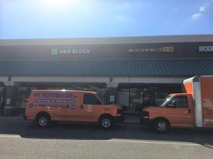Commercial Restoration Orlando Job Site